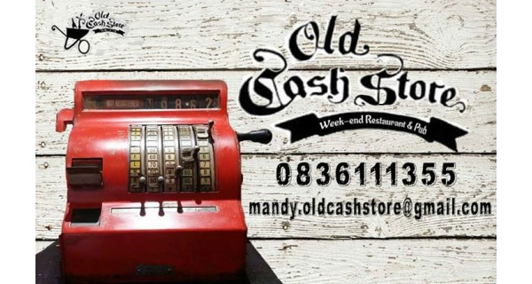 The Old Cash Store Week-end Restaurant, Pub and Venue Logo